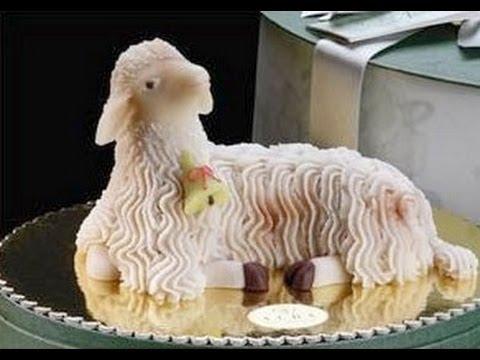 Pecorella di Marzapane della tradizione Palermitana